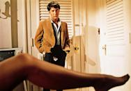 Dustin Hoffman as Benjamin Braddock in 'The Graduate' (1967) Real age at the time: 30 - Character: 21