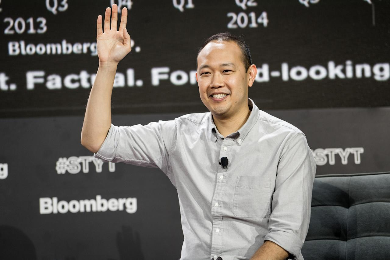 <p>Chieh, who runs the US e-tailer Boxed, foots the bill for his employees' children to go to college and also offers to pay up to $20,000 for employees' weddings. (Misha Friedman/Bloomberg via Getty Images) </p>