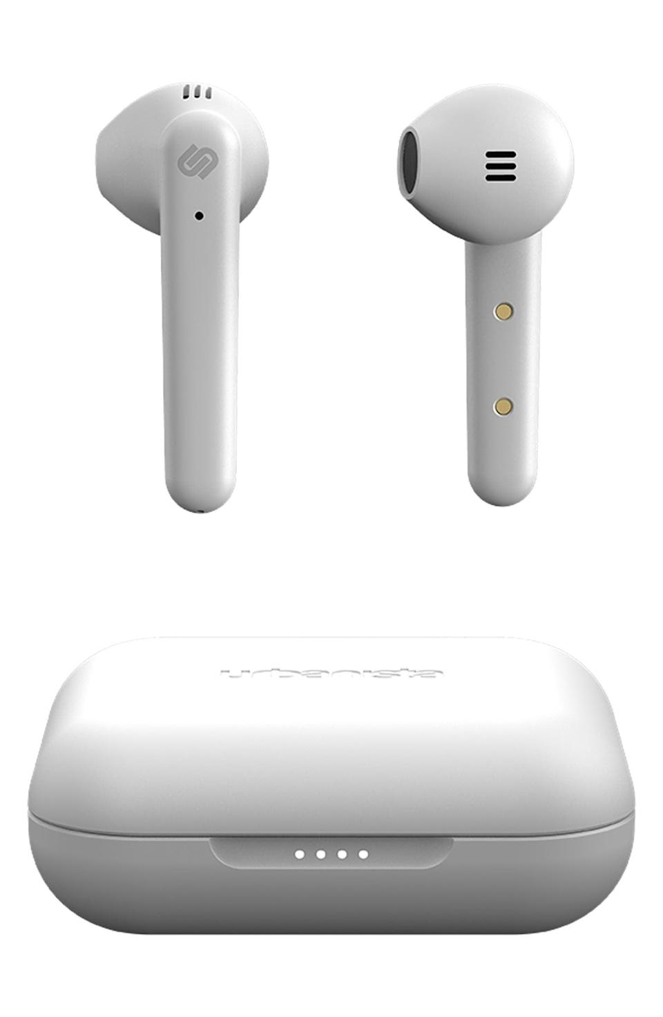<p>These convenient <span>Stockholm Plus Bluetooth Ear Buds</span> ($69) allow him to be on the go wire-free.</p>