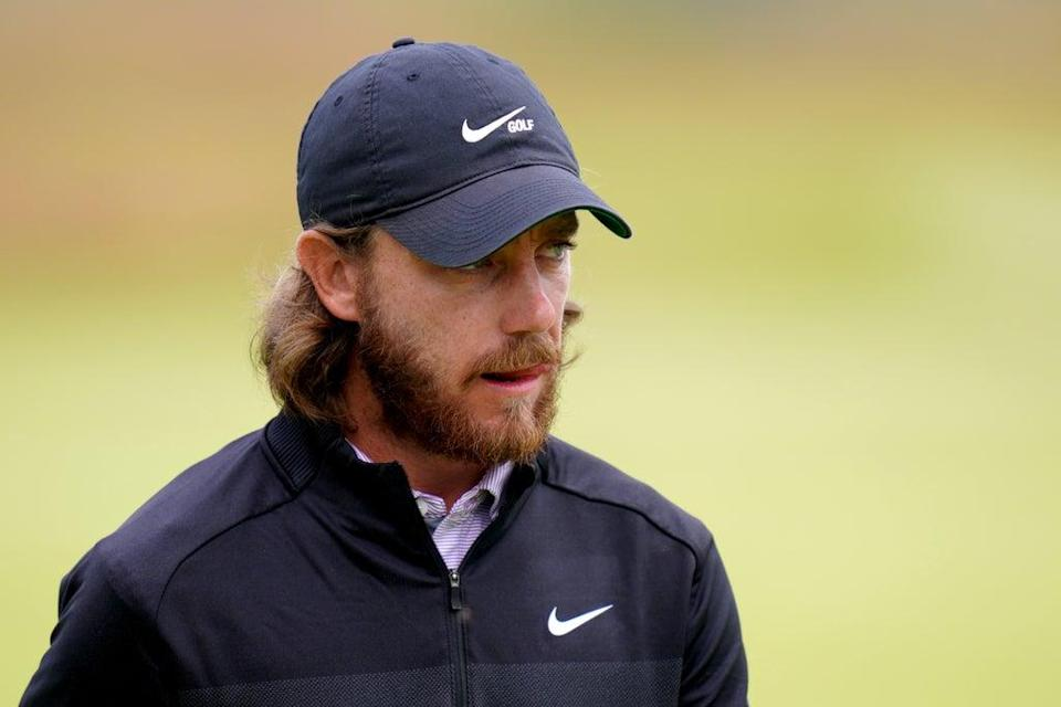 Tommy Fleetwood was two shots off the halfway lead in the DS Automobiles Italian Open (Jane Barlow/PA) (PA Wire)