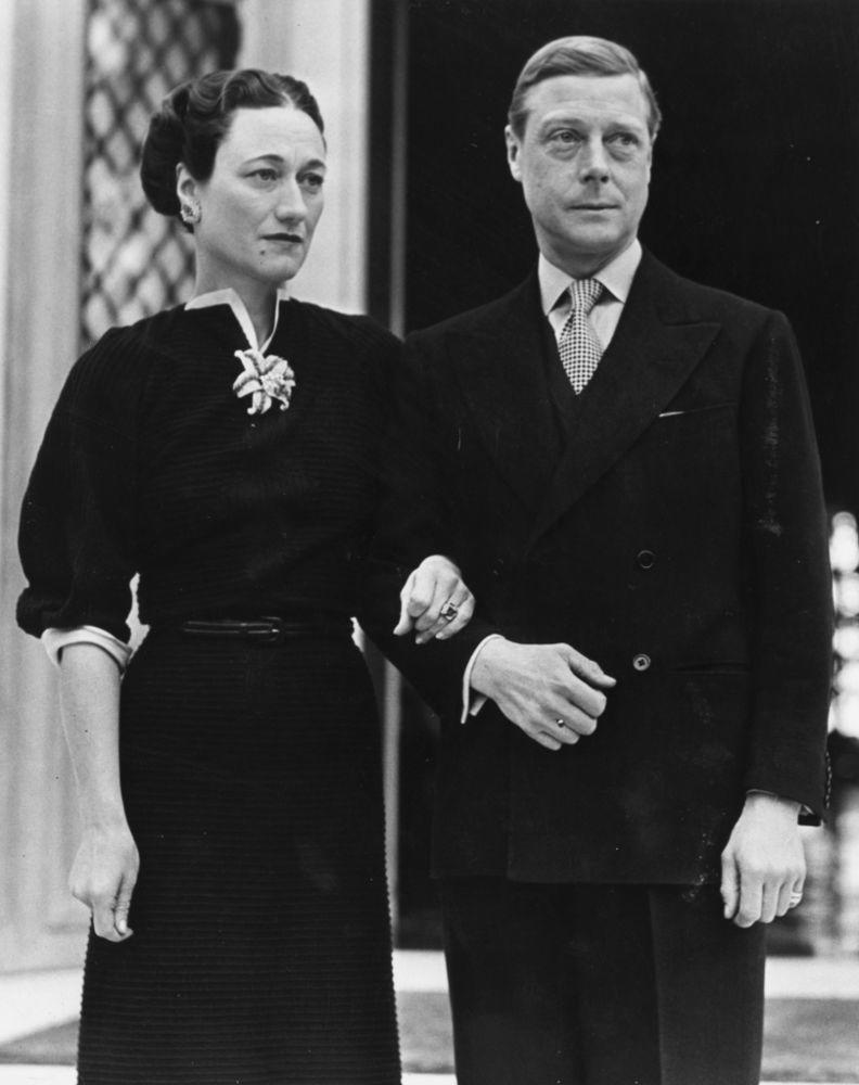 Wallis Simpson and Prince Edward, Duke of Windsor | Fox Photos/Getty Images