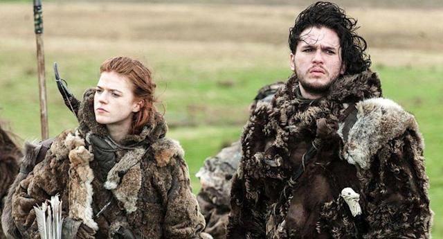 Rose and Kit in <em>Thrones</em>. (Photo: HBO)