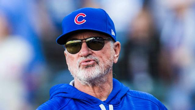 Chicago Cubs manager Joe Maddon is glad to be back home heading into game three against the Washington Nationals in the NLDS.