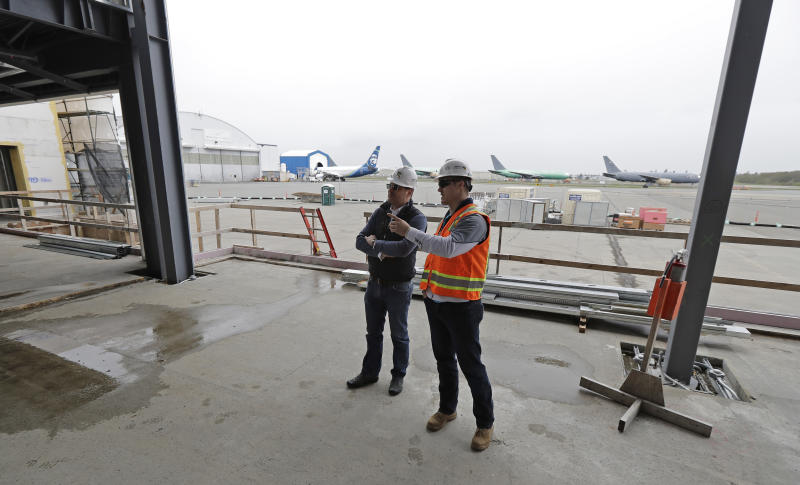 Suburban Seattle getting rare, private US airport terminal