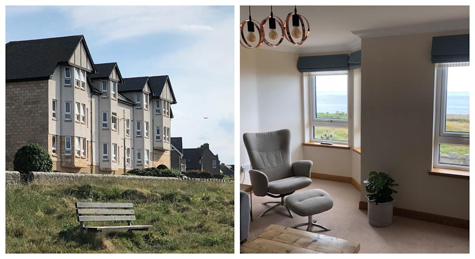 You can't beat the views from these seaside apartments (Sykes Cottages)