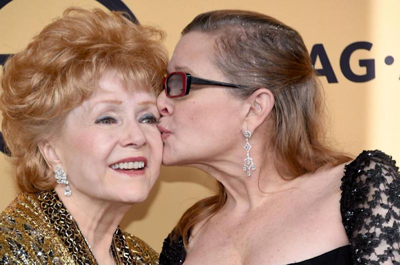 Carrie died in December last year, one day before her mother passed away. Photo: Getty