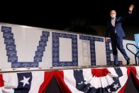 Democratic U.S. presidential nominee and former Vice President Biden campaigns in Florida
