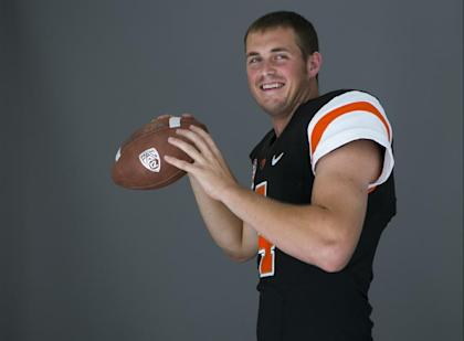 Will this be the year Sean Mannion leads Oregon State out of Oregon's shadow? (AP)