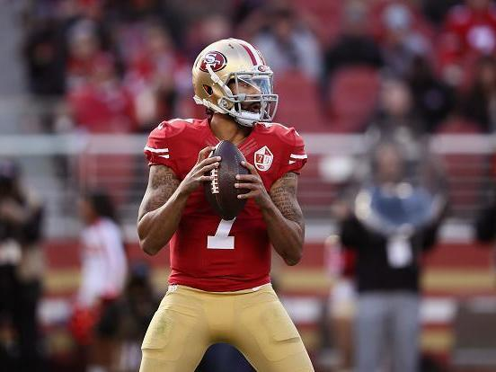 Kaepernick hasn't seen an NFL field in three years (Getty)