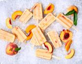 "<p><strong>Recipe: <a href=""https://www.southernliving.com/recipes/peach-buttermilk-popsicles"" rel=""nofollow noopener"" target=""_blank"" data-ylk=""slk:Buttermilk-Peach Popsicles"" class=""link rapid-noclick-resp"">Buttermilk-Peach Popsicles</a></strong></p> <p>We love any way we can use fresh peaches in the summertime, but this cool recipe will definitely be the kids' favorite.</p>"
