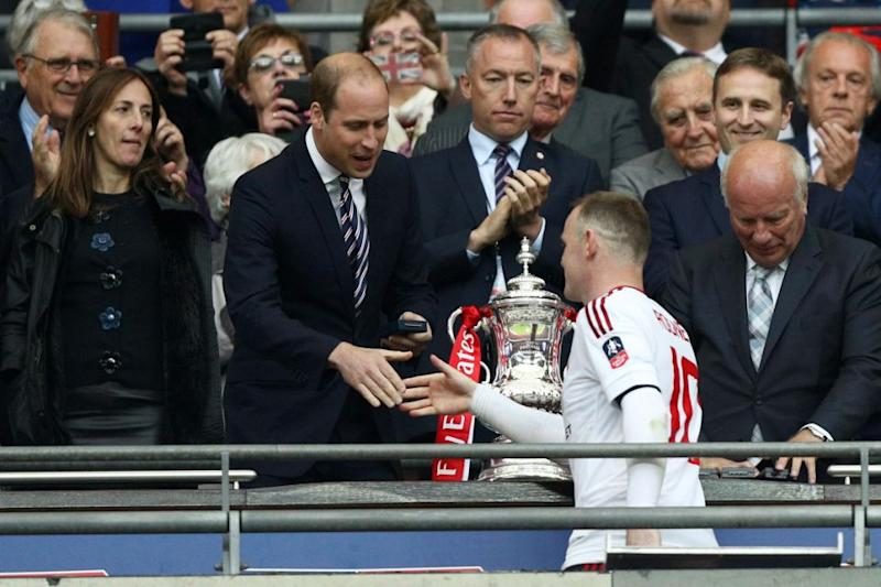 Prince William is the President of the Football Association and the FA Cup Final is on that day. Photo: Getty Images