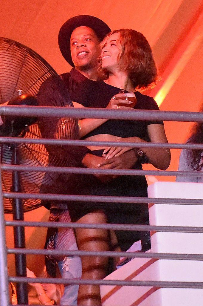 <p>The couple enjoyed the entertainment at Jay-Z's 'Made In America' festival in Los Angeles.</p>