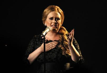 """Adele performs """"Someone Like You"""" at the 2011 MTV Video Music Awards in Los Angeles"""