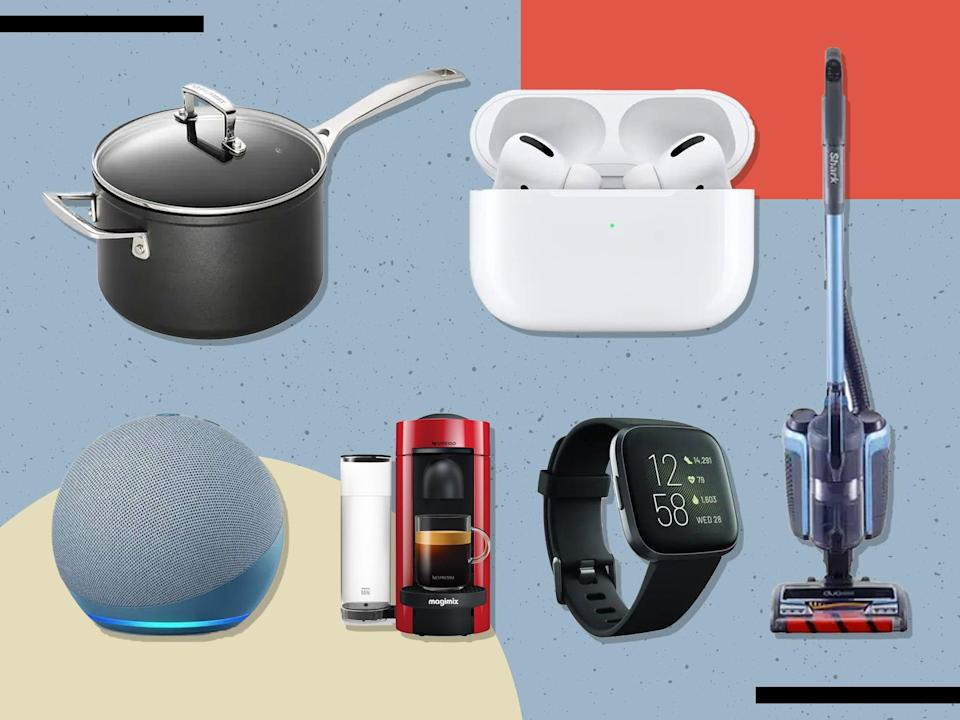 From stand mixers to Shark hoovers, there's another 24 hours of discounts to go (iStock/The Independent )