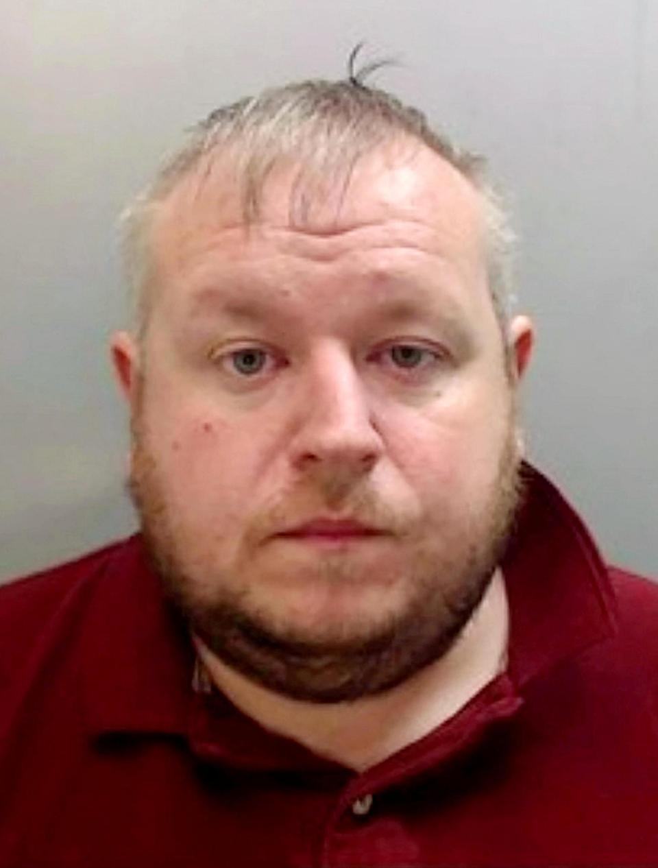 Teaching assistant Carl Jones, 38, has been jailed for three-and-a-half years after grooming a boy via Instagram. (SWNS)