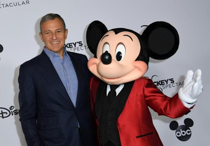 Bob Iger is leaving as CEO at Walt Disney Co., assuming the role of executive chairman in charge of creative projects (AFP Photo/VALERIE MACON)