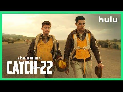 """<p><strong>Where Is It On?</strong> Hulu</p><p><strong>What Season is This?</strong> 1</p><p><strong>What You Should Know:</strong> <em>Catch-22</em> is currently being listed as a miniseries, though we saw how that went for <em>Handmaid's Tale</em>. Don't expect a lengthy commitment to this show, though, because with names attached like Christopher Abbott, Kyle Chandler, Hugh Laurie, and George Clooney, they're not going to stay in one place for too long.<em></em><em></em></p><p><a href=""""https://www.youtube.com/watch?v=JARn16yojbQ"""">See the original post on Youtube</a></p>"""