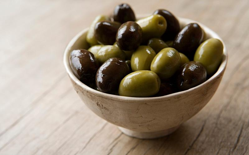 Olives can be more salty than seawater  - Digital Vision