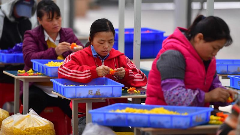 China's small factory activity expanded in November at fastest pace in nearly three years
