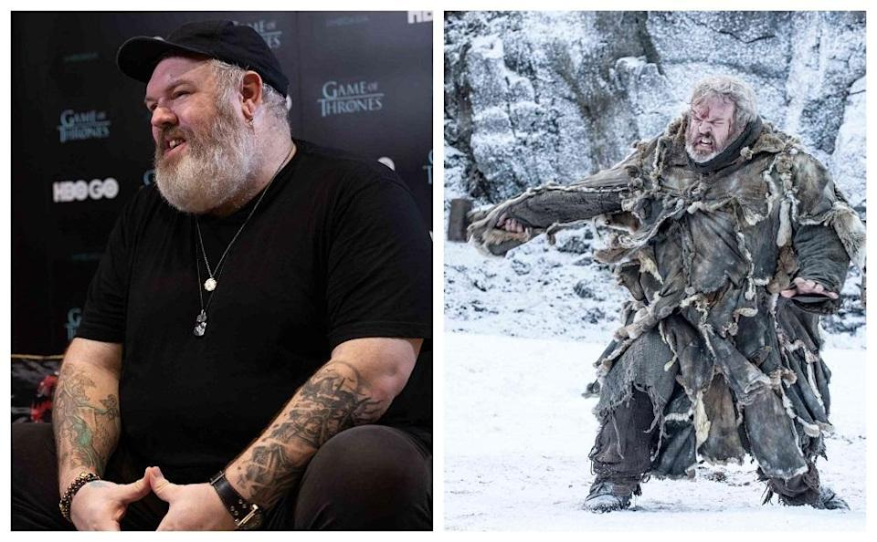 Hodor was loved by fans for his purity and kindness in the cruel universe of Westeros. — Picture courtesy of HBO
