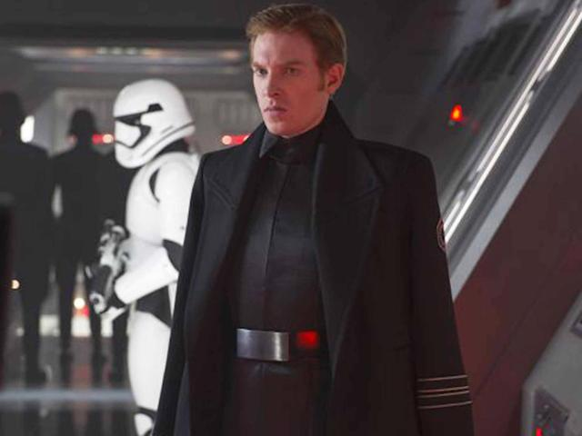 Gleeson in <em>Star Wars: The Force Awakens.</em> (Photo: Lucasfilm)