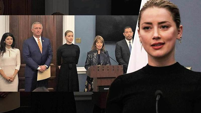 Lena Taylor Thrills Capitol >> Amber Heard Speaks At U S Capitol To Support Revenge Porn Bill