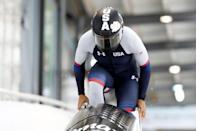 """<p><strong>Sport: </strong>Bobsled</p><p>With three Olympic medals and Games under her belt, Meyers Taylor is one of the sport's clear standouts. <a href=""""https://www.womenssportsfoundation.org/athlete/elana-meyers/"""" rel=""""nofollow noopener"""" target=""""_blank"""" data-ylk=""""slk:She's made history twice"""" class=""""link rapid-noclick-resp"""">She's made history twice</a> as the first American woman bobsled driver to earn a World title and the first woman to compete alongside the men on the U.S. National Team as a four-man bobsled pilot.</p>"""