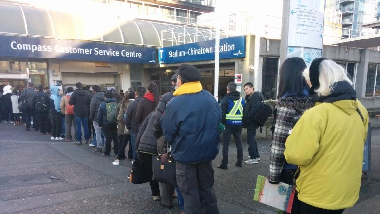 TransLink service disruptions coincide with Compass Card rollout