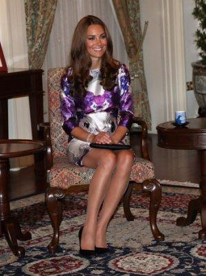 Kate Middleton Brings Back Nude Hosiery Makes Bare Legs