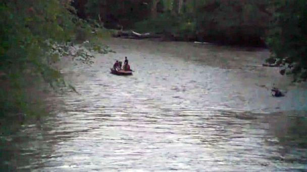 PHOTO: A 4-year-old boy was swept away in a flooded creek in Delphi, Ind. (WTTV)