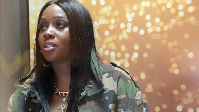 Remy Ma in Footaction's cuffing season confessional
