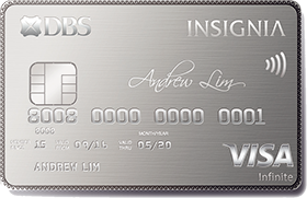DBS Insignia - The Four Most Exclusive Credit Cards in Singapore | SingSaver