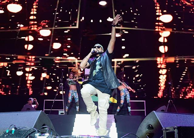 <p>Sean Paul performs on Ambassador Stage during day 1 of the 2017 Life Is Beautiful Festival on September 22, 2017 in Las Vegas, Nevada.<br>(Photo by FilmMagic/FilmMagic) </p>