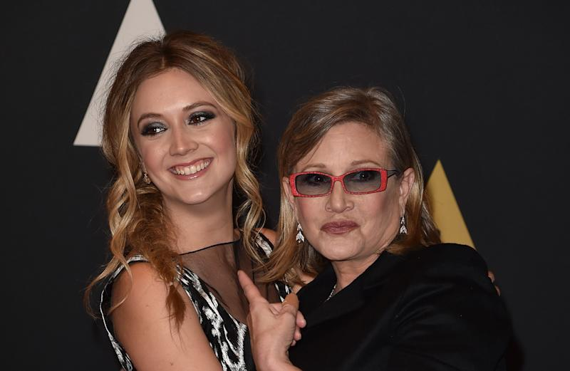 Billie Lourd has released an emotional statement following the release of her mother's updated cause of death