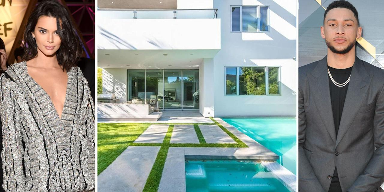 """<p>It was reported a few weeks ago that supermodel Kendall Jenner and NBA star Ben Simmons had taken their romance to the next level and rented a home together. Now we are getting a peak behind the doors of the modern $25,000 a month West Hollywood home that the two are renting.</p><p>The two-story, 4,052 square foot home was built in 2013, according to <em><a rel=""""nofollow"""" href=""""https://www.trulia.com/blog/celebrity-homes/kendall-jenner-and-ben-simmons-rent-west-hollywood-home/"""">Trulia</a>. </em>It also features a spa-like bathroom, deep soaking tub, custom closets and a private backyard with a fireplace. Take a look inside the stunning abode the new couple now call home.</p>"""