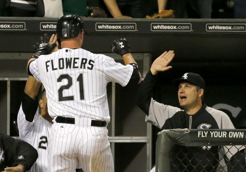 Flowers hits tying winning homers for white sox mightylinksfo