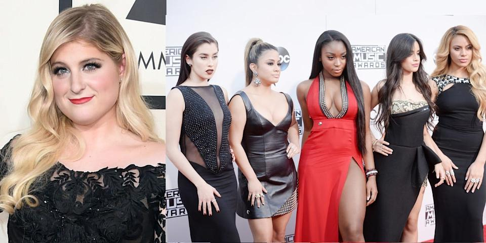 meghan trainor and fifth harmony