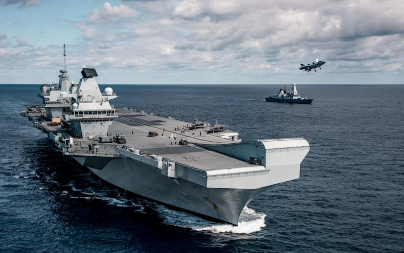 Royal Navy carriers require supply ships to operate - PA