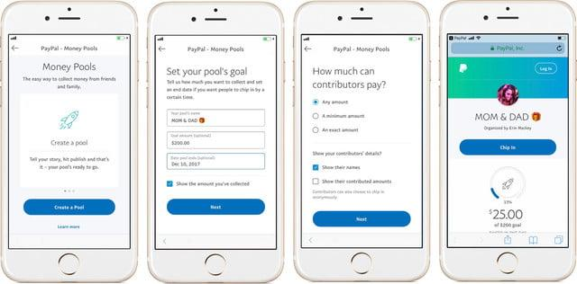 Join friends and family for a group purchase with PayPal's