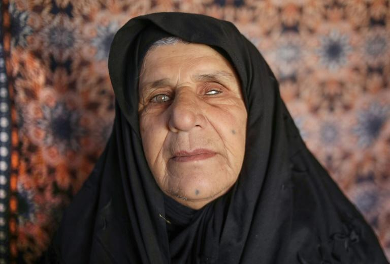 Swiba Mohammed, 60, lost five children and her eyesight in the Halabja chemical attack