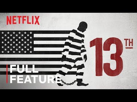 """<p><em>The 13th</em>, a Netflix documentary by Ava DuVernay, is an incredible look at how race and the justice system interact with the crippling mass incarceration problem in America. While likening the system to American slavery, DuVernay's film skewers the prison industrial complex and sheds a light on the for-profit systems that have deeply corrupted correctional facilities across the United States. The film is celebrated among critics, having nabbed a Best Documentary nomination at the Academy Awards, and an Emmy win, to boot.</p><p><a class=""""link rapid-noclick-resp"""" href=""""https://www.youtube.com/watch?v=krfcq5pF8u8&feature=emb_title"""" rel=""""nofollow noopener"""" target=""""_blank"""" data-ylk=""""slk:Watch Now"""">Watch Now</a></p><p><a href=""""https://www.youtube.com/watch?v=krfcq5pF8u8"""" rel=""""nofollow noopener"""" target=""""_blank"""" data-ylk=""""slk:See the original post on Youtube"""" class=""""link rapid-noclick-resp"""">See the original post on Youtube</a></p>"""