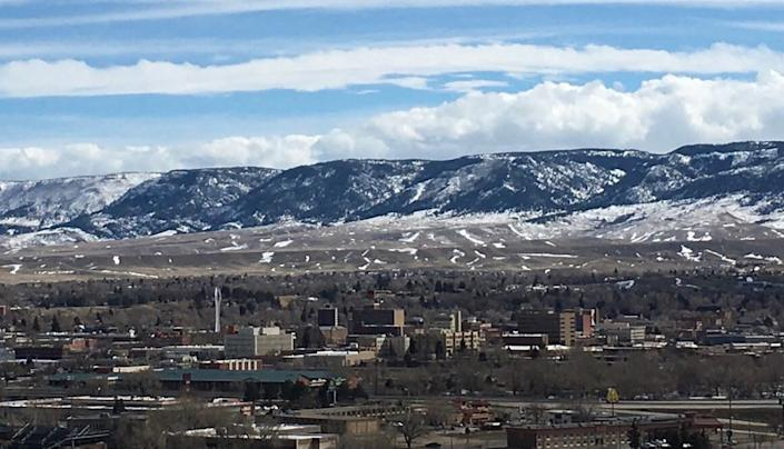 Casper, population 57,461, is the second-biggest city in Wyoming, the least populous state in the U.S.