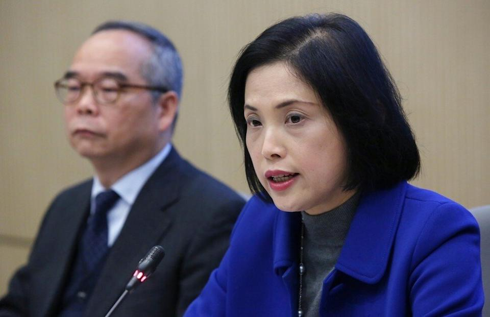 Betty Fung is Hong Kong's former permanent secretary for home affairs. Photo: Edmond So