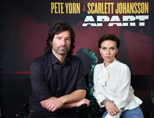 "Pete Yorn, left, and Scarlett Johansson have launched their new extended play record ""Apart"""