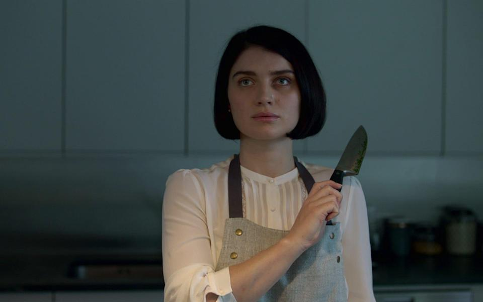 Not what she appears: Eve Hewson as Adele in Netflix's Behind Her Eyes