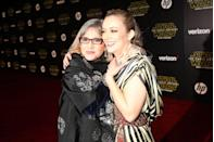 <p>The seemingly hereditary star quality did not stop with Carrie. When Fisher married talent agent Bryan Lourd they had a daughter named Billie. Billie has buddied up to Ryan Murphy, starring in <em>Scream Queens</em> and <em>American Horror Story. </em>She even got the chance to act alongside her mother in a small role in the revived <em>Star Wars</em> franchise. </p>
