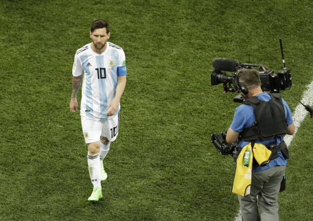 Without the United States playing in the 2018 World Cup, Fox Sports and NBCUniversal Telemundo are experiencing significant drops in viewership. (AP Photo)