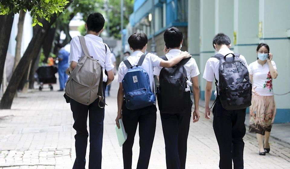One principal has said that the Education Bureau's stance has put schools in a difficult position. Photo: Dickson Lee