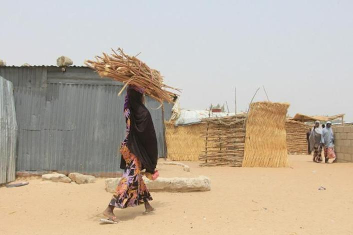 Two million people have been displaced by Nigeria's war in more than a decade