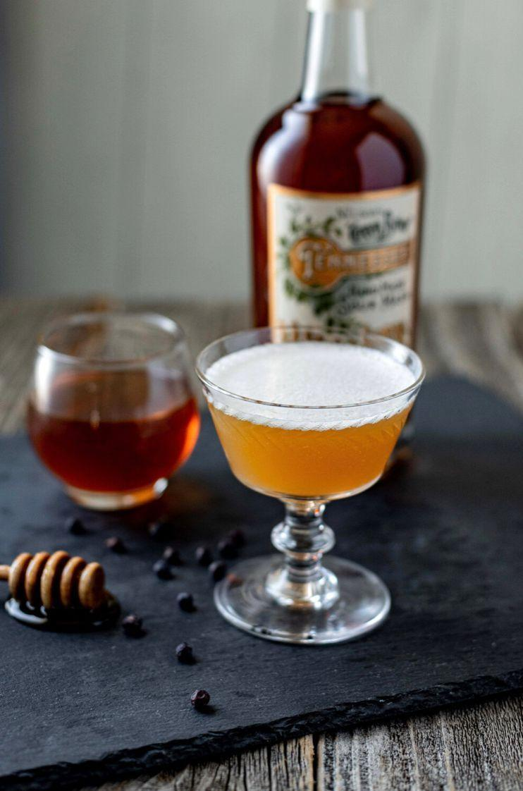 <p><strong>Ingredients</strong></p><p>2 oz Nelson's Green Brier Tennessee Whiskey<br>.75 oz lemon juice<br>.5 oz honey simple (2:1 ratio raw honey to water)<br>.25 oz Allspice Dram1 dash chocolate bitters </p><p><strong>Instructions</strong></p><p>Add all ingredients to a cocktail shaker filled with ice. Shake until chilled and strain into a chilled coupe. Express the oils from a lemon peel over the top of the drink and discard the peel.<br></p>